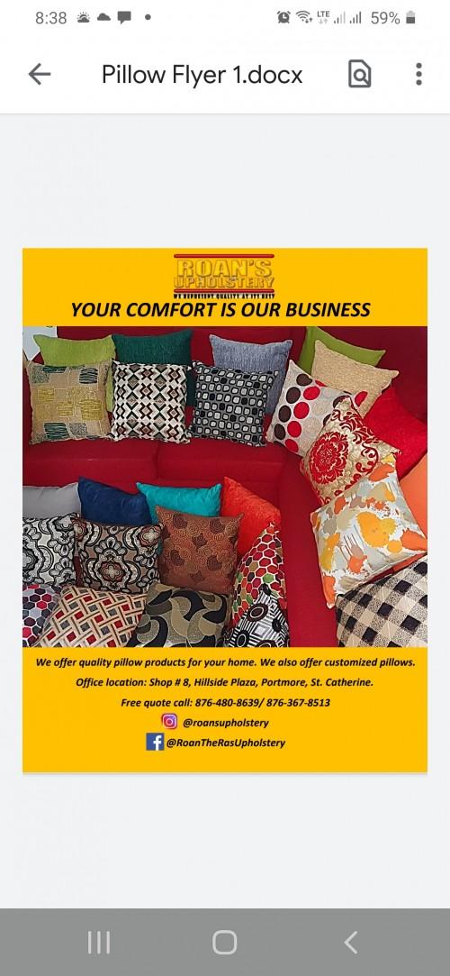Customized Pillow Cushions