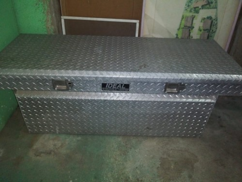 Tool Box For A Pickup Truck