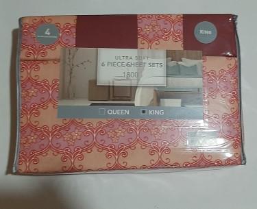 6 Piece Bed Sheet Sets