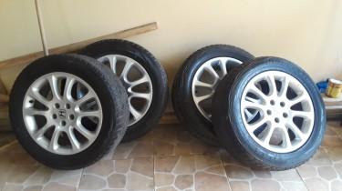 Aluminium Stock Rims And Tires