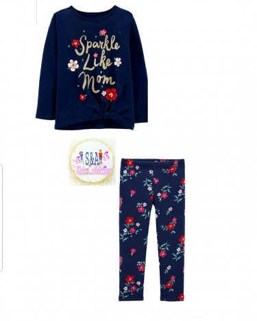 Carter's Tights Set. 4T
