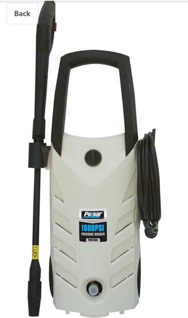 Pulsar Electric Pressure Washer 1600 PSI