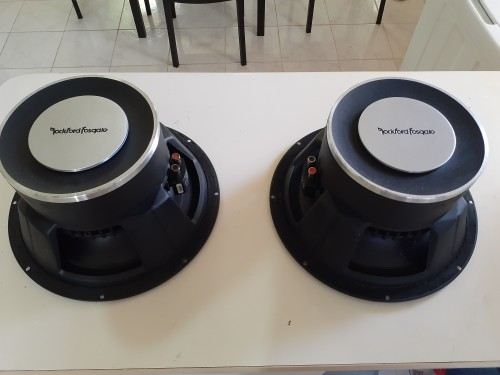 TWO 12INCH  Dual COIL PUNCH SUBWOOFER