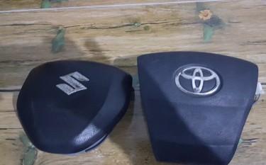 Suzuki  Swift 2014 And Toyota Mark X Air Bags