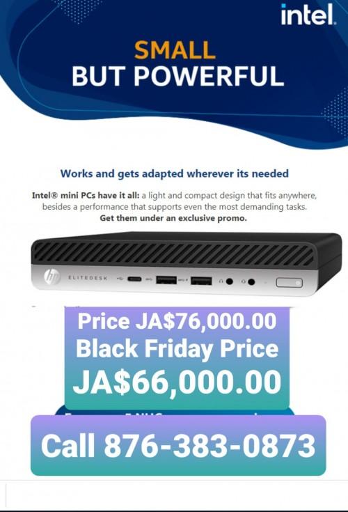HP Elitedesk 800 G3 Mini Desktop Computer Intel I5