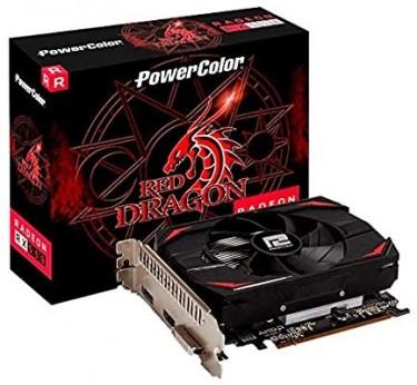 AMD Radeon RX 550 4GB Red Dragon Graphics Card