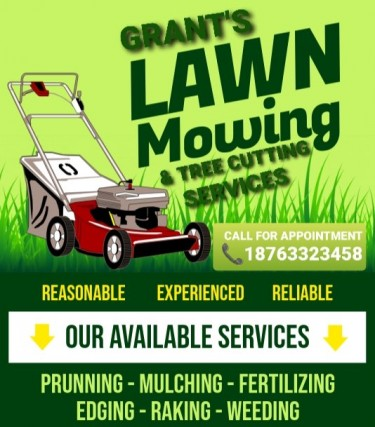 GRANT'S LAWN CARE & TREE CUTTING SERVICES