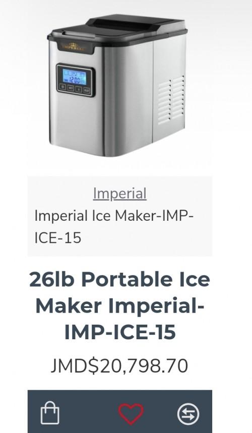 New Ice Making Machine