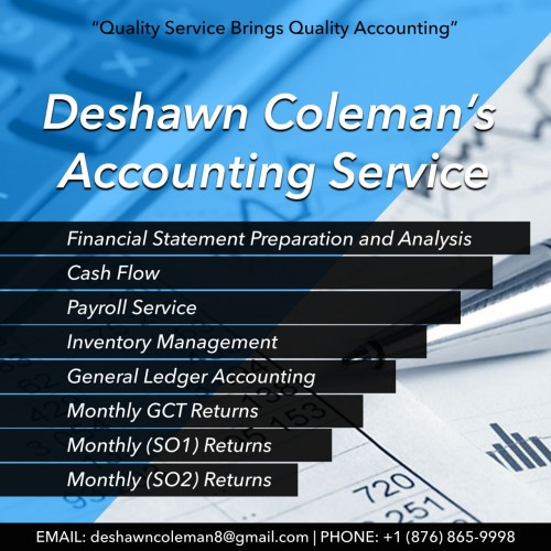 Do You Need An Accountant. Ask Me Now....