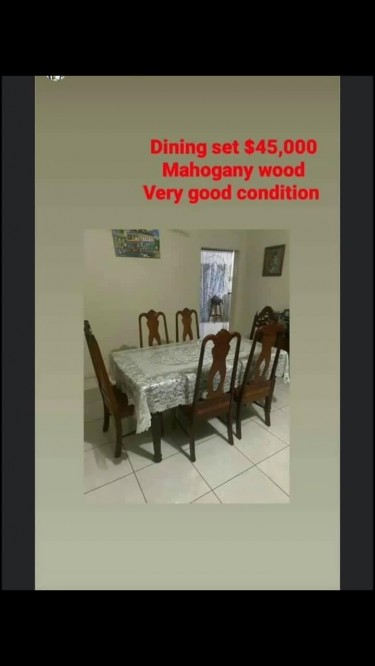 Mahogany Furnitures