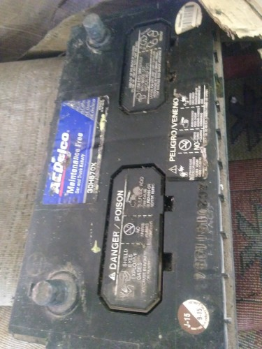 Truck Battery And Rims
