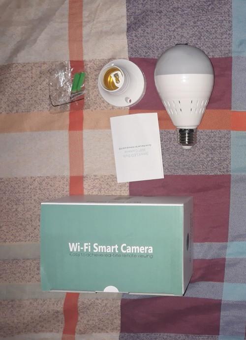 Wifi Camera Bulb