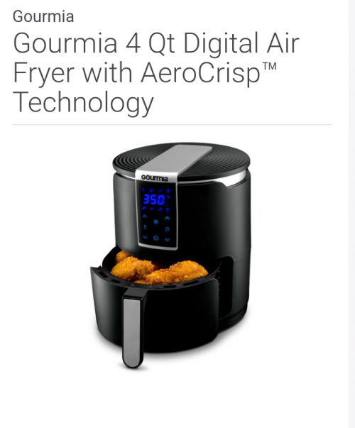Air Fryer With AeroCrisp Technology