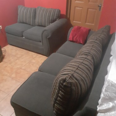 2 Piece Sofa Set (Moving Sale)