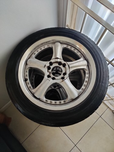 16' Rims & Tires. Selling As Is