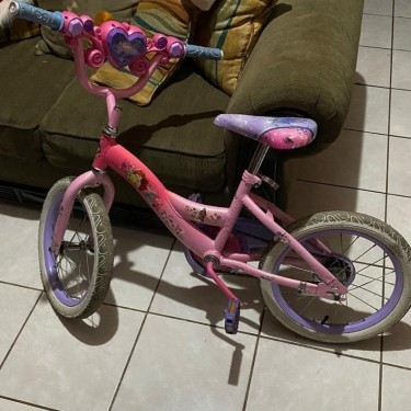 Pre Own Size 16 Girl Bike Good Condition