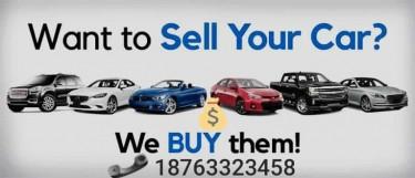 WE BUY CARS CASH!!!!