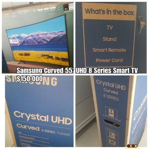 Samsung 55' Curved 8 Series Smart UHD TV