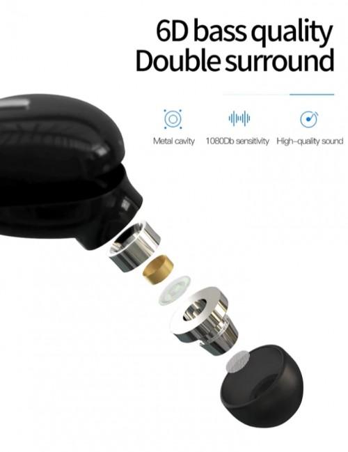One (1) Piece Mini Bluetooth Earbuds