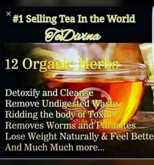 TeDivina Detox And Weight Loss Tea