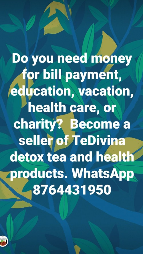 Opportunity To Sell Health Products Part Time