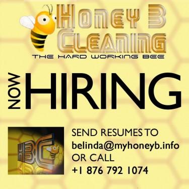 How Hiring! Honey B Cleaning
