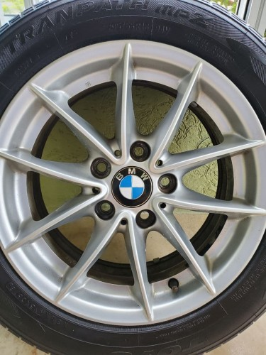4 Used Original BMW 16 Inch Rims With Tires.