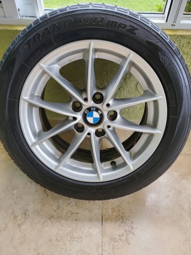4 Used Original BMW 16 Inch Rims With Tires. Rims and Tyres Ocho Rios