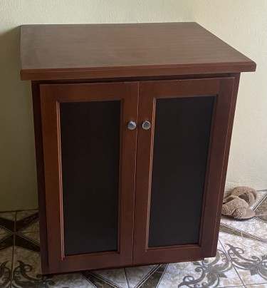 Cabinet With Pull Out Tray