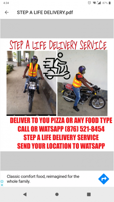 Deliver Service Just Call Or WhatsApp