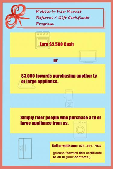 Massive Discount Sale On Appliance