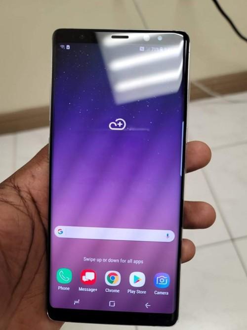 Note 8 Slight Screen Burn