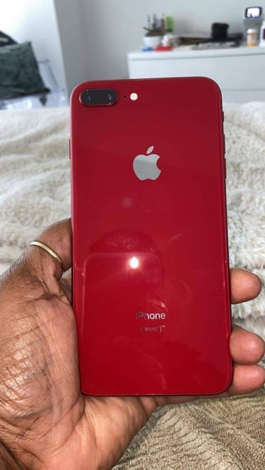 Iphone 8 Plus 256gb (product Red) Fully Functional