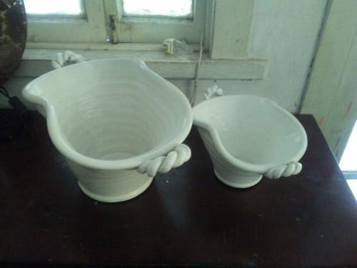 Ceramic Decorations And Vases, Glassware