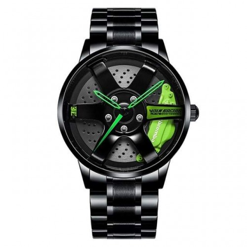 Stainless Steel High Quality Heavy Rim Sport Watch