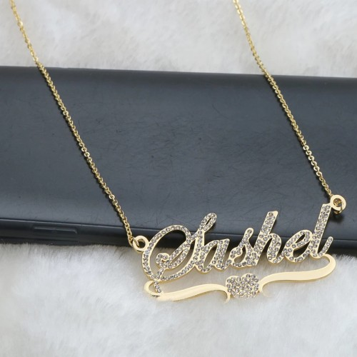 Stainless Steel Customized Name Necklace
