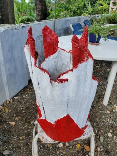 Cement  Flower  Vase