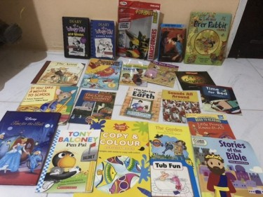 Lots Of New And Use Books