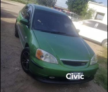 2002 Honda Civic Es1 Recently Sprayed (green)