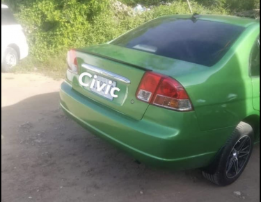 2002 Honda Civic Es1 Recently Sprayed (green)