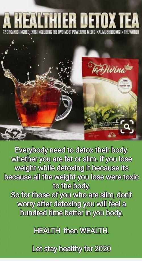 TeDivina Detoxing Tea And Supplement