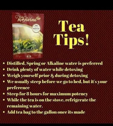 TeDivina Detox Tea