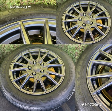 205/60 16inch Rims With Tires Fairly New