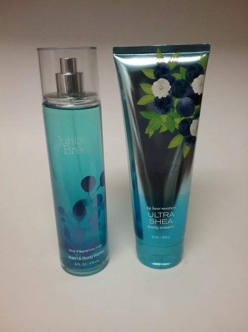 Bath And Body Works Fragrance Mist And Body Cream