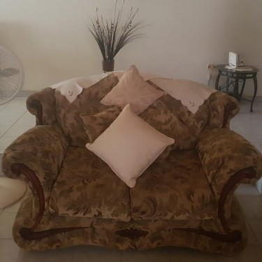 4pcs Sofa Set With Cushions