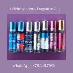 Celebrity Scents Fragrance Oils