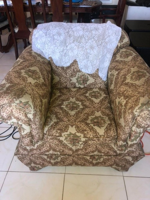 Three Piece Settee For Sale