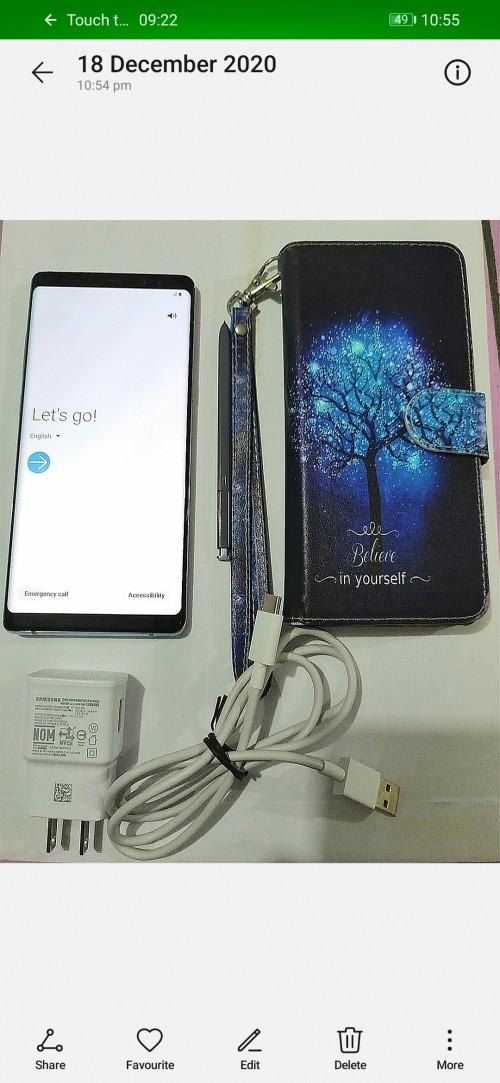 Galaxy NOTE 8 Unlocked -- Like New + Stylus + Case