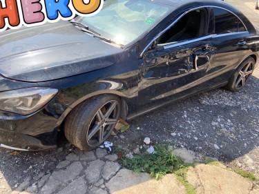 2018 Mercedes Benz CLA 250 Crashed For Sale