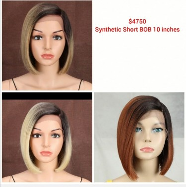 Human And Synthetic Hair